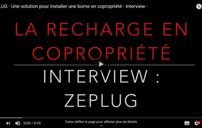 Interview solution de recharge électrique borne
